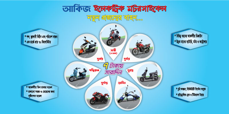 AKIJ Electric Motorcycles