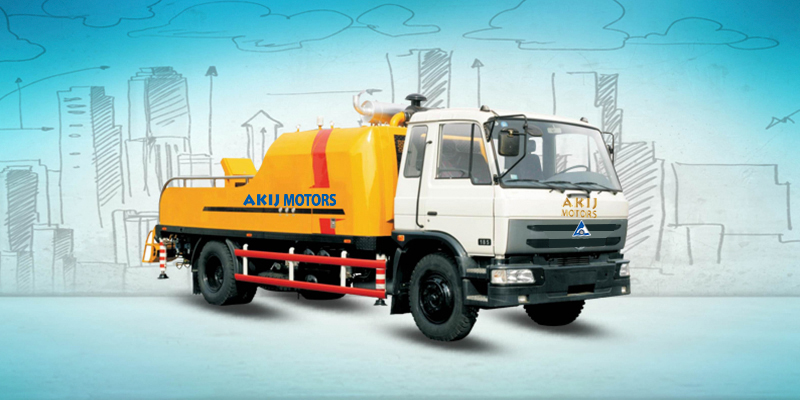 Truck Mounted concrete-pump